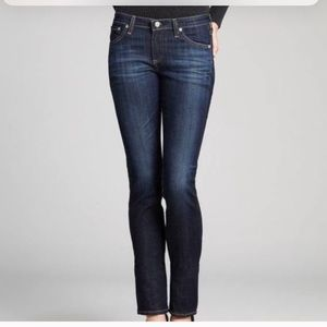 Ag Adriano Goldschmied Skinny Straight Jeans - 30R